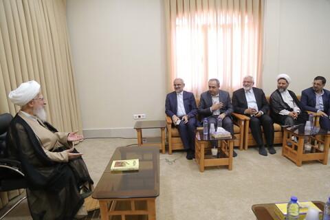 دیدار وزیر آموزش و پرورش با آیت الله العظمی جوادی آملی