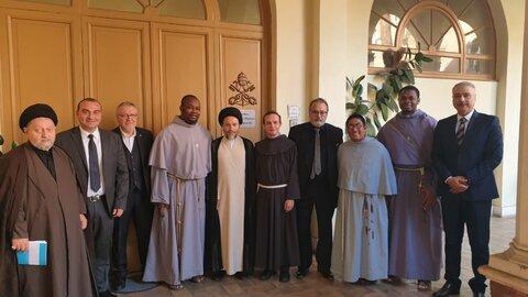 سفر حجت الاسلام سید ریاض حکیم به اروپا