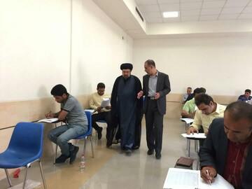 آزمون متقاضیان تصدی امر داوری در دادگستری فارس برگزار شد