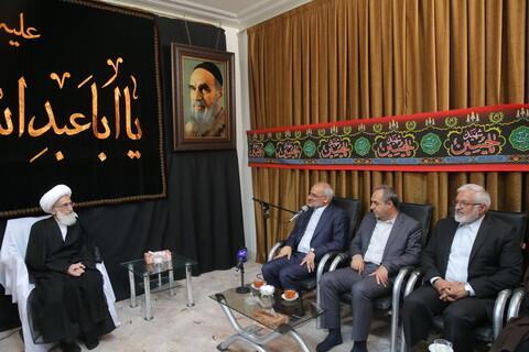 تصاویر/ دیدار وزیر آموزش و پرورش با مراجع و علما