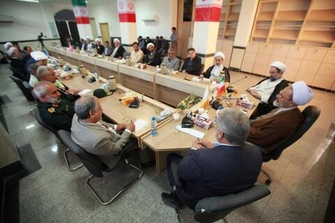 نشست شورای تامین زاهدان با حضور آیت الله اعرافی