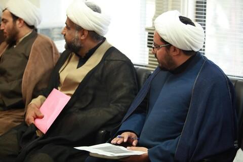 تصاویر/ نشست شورای هماهنگی نهادهای حوزوی استان سیستان و بلوچستان با حضور آیت الله اعرافی