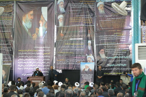 تصاویر/ مراسم چهلم مرحوم آیت الله آصف محسنی در قم