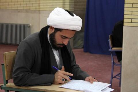 تصاویر/ آزمون سالانه حفظ قرآن حوزه همدان