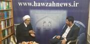 بازدید رئیس مرکز قرآن و حدیث حرم امام حسین(ع) از خبرگزاری حوزه