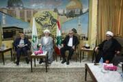 وفد مجمع تقريب المذاهب الاسلامي يزور تجمع العلماء المسلمين في لبنان وتباحثا بشؤون إسلامية