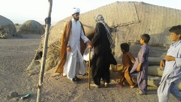 خدمت جهادی ۱۶ نفر از طلاب الیگودرزی به روستاییان