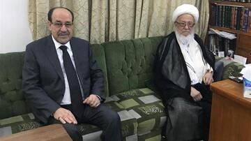 آیت الله العظمی فیاض بر ضرورت وحدت موضع جریان های سیاسی عراق تاکید کردند