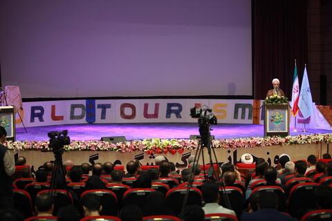 تصاویر/ همایش ملی روز جهانی «گردشگری» در زاهدان با حضور آیت الله اعرافی