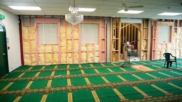 خسارت 350 هزار دلاری به مسجد جامع همیلتون در نیوزلند