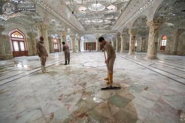 استعدادات لاستقبال الزائرين في أربعينية الإمام الحسين (ع)
