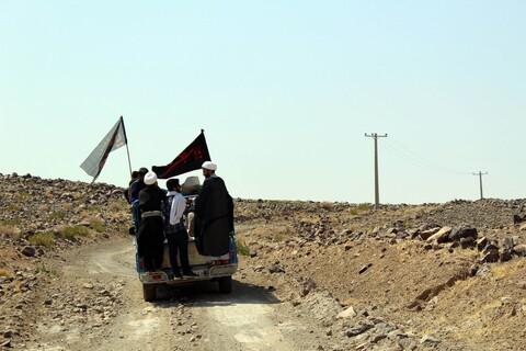 تصاویر/ فعالیتهای موسسه تبلیغی- جهادی سفیر در منطقه محروم «نمداد» کرمان