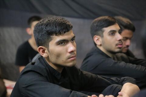 تصاویر/ مراسم بزرگداشت هفته دفاع مقدس در مدرسه علمیه مهدی موعود (عج)