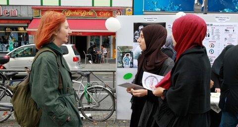 مردی با چاقو به دو زن مسلمان در آلمان حمله کرد