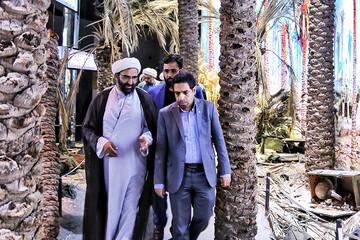 تصاویر/ حضور مدیر و معاونین حوزه علمیه تهران در باغ موزه دفاع مقدس
