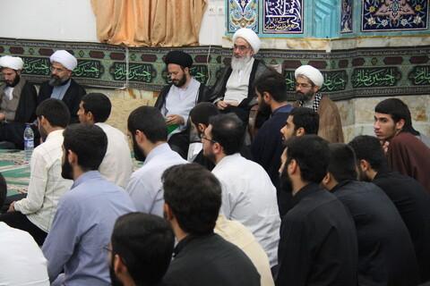 تصاویر/ مراسم تکریم و معارفه مدیر جدید و آغاز سال تحصیلی جدید مدرسه علمیه امام خمینی (ره) بوشهر