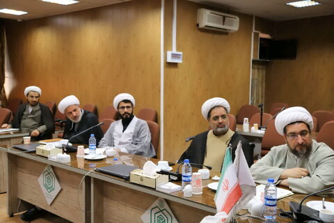 تصاویر/ نشست شورای نهادهای حوزوی استان آذربایجان شرقی