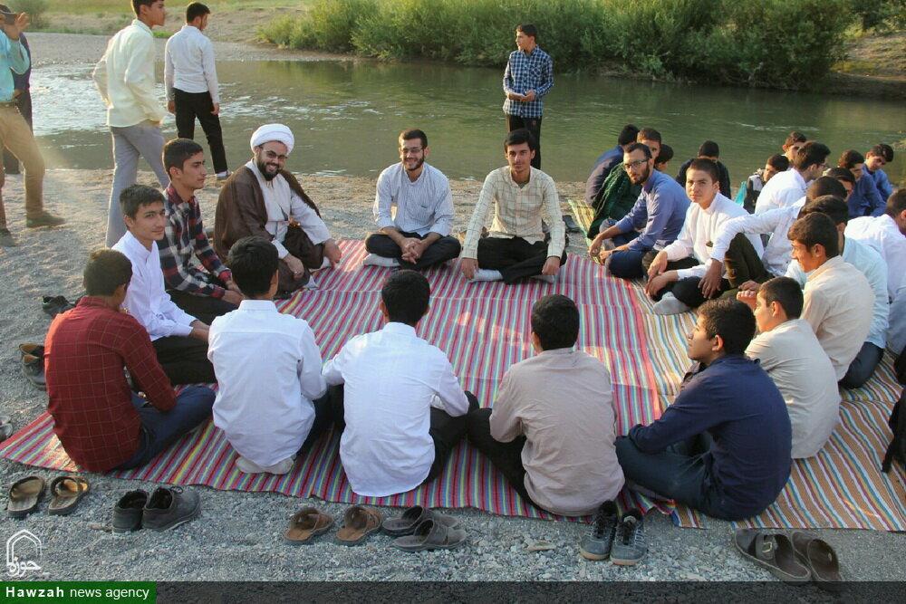 تصاویر شما/ اردوی طلاب جدیدالورود حوزه علمیه آذربایجان غربی