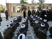 تصاویر/ انتخاب پایگاه بسیج مدرسه علمیه خاتم الانبیاء(ص) بم به عنوان برترین پایگاه بسیج کرمان