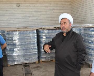 ارسال 50 هزار بطری آب معدنی به موکب های کربلا