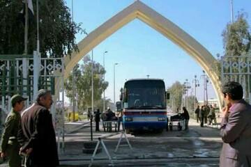 تردد از قصر شیرین به مرز خسروی تنها با اتوبوس امکان پذیر است