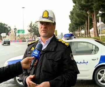 پلیس راهور کرمانشاه برای بازگشت زائران کربلا در آمادگی کامل است