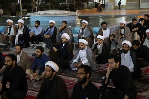 تصاویر/ ویژهبرنامه حماسه اربعین در مدرسه علمیه فیضیه