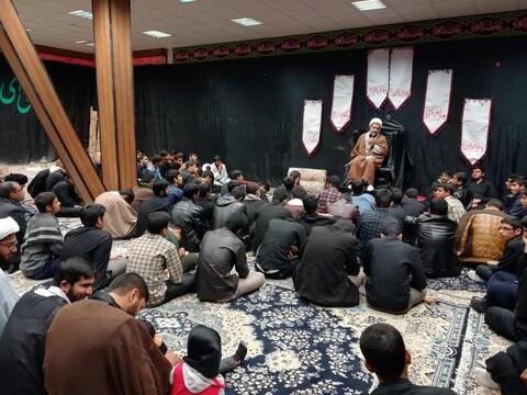 تصاویر/ انتخاب بسیج طلاب مدرسه علمیه خاتم الانبیاء(ص) بم به عنوان برترین پایگاه بسیج کرمان