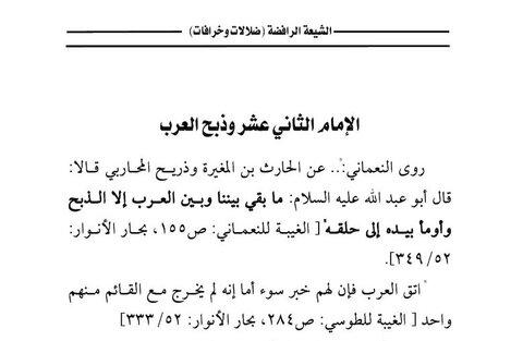 شبهه عدم حضور اعراب در میان یاران امام زمان(عج)