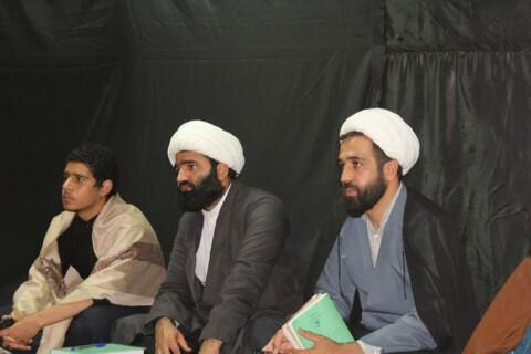 تصاویر/ محفل «شبی با شهدا» در مدرسه علمیه امام صادق(ع) قروه