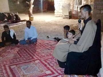 طلبه ای که برای محرومیت زدایی به پا خاسته است/ جهادگران به کمک بیایند