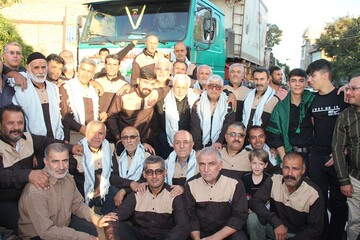 خادمین موکب سیدالشهدا(ع) به نجف اشرف اعزام شدند