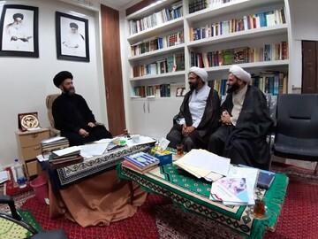 دیدار مدیر حوزه علمیه استان تهران با امام جمعه اردبیل+ عکس