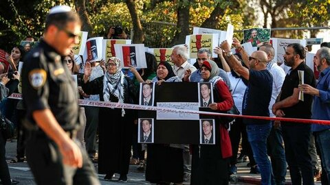 Palestinians march 'day of rage' over torture of detainee in Israel custody