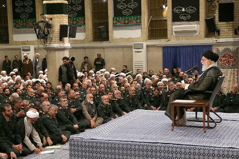 دیدار فرماندهان سپاه با رهبر انقلاب