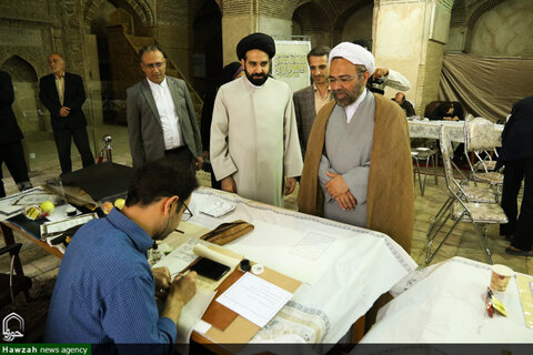 اولین مسابقه کتابت قرآن کریم در اصفهان