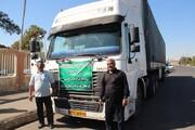 إرسال 2000 شاحنة عبر منفذ شلمجة للعراق في ايام زيارة الاربعين