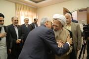 تصاویر/ دیدار وزیر علوم، تحقیقات و فناوری با آیت الله العظمی جوادی آملی