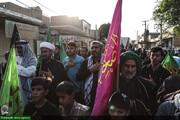تقرير مصور عن انطلاق مشاية الأربعين الحسيني لأهالي الأهواز نحو كربلاء المقدسة
