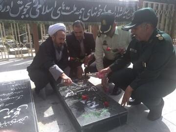امام جمعه بیجار با شهدا تجدید میثاق کرد
