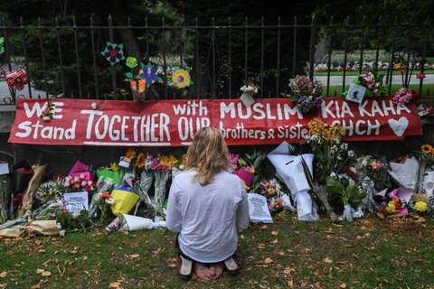 Suspect in mass mosque killing halts bid to move trial away from Christchurch