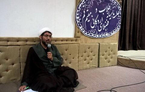 حجت الاسلام عابدی - نماینده طلاب اردکان