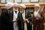 تصاویر/ مراسم گرامیداشت مرحوم حاج شیخ هادی فقهی در دارالقرآن علامه طباطبایی(ره)