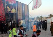 موکب شهدای شهرستان بم پذیرای زائران پاکستانی