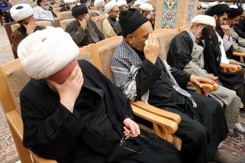 تصاویر/ مراسم گرامیداشت مرحوم حاج شیخ هادی فقهی در دارالقرآن علامه طباطبایی