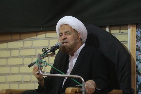 تصاویر/ مراسم بزرگداشت مرحوم عبدالرضا روحانی قوچانی نماینده آیت الله العظمی سیستانی