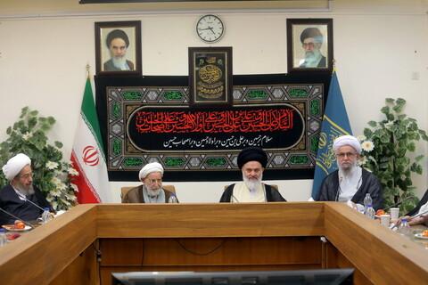 تصاویر/ نشست اعضای جامعه مدرسین