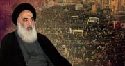 متن کامل موضع گیری آیت الله العظمی سیستانی در خصوص تظاهرات اخیر عراق