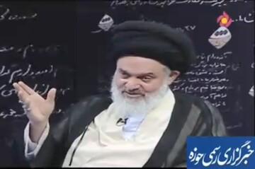 فیلم| صحبتهای جالب آیتالله حسینی بوشهری در برنامه دست خط