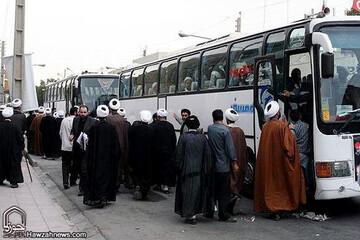 اعزام ۱۴۰ مبلغ به پایانههای مرزی خوزستان